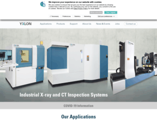 yxlon.com screenshot