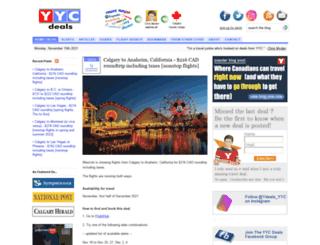yycdeals.com screenshot