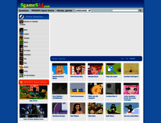 za.sgames24.com screenshot
