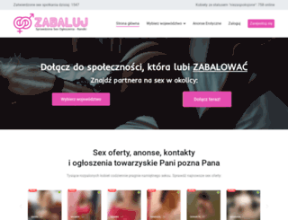 zabaluj.pl screenshot