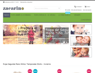 zacarino.com screenshot