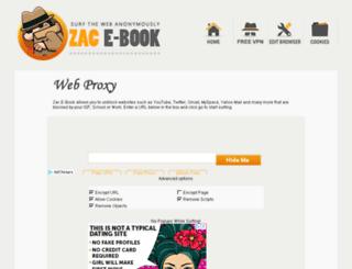 zacebook.com screenshot