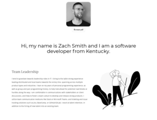 zachis.it screenshot