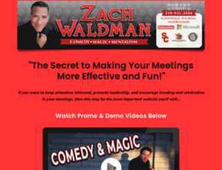 zachwaldman.com screenshot