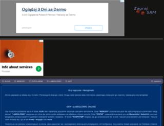 zagrajsam.pl screenshot