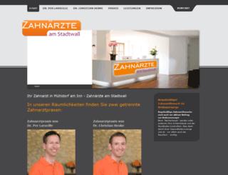 zahnarzt-muehldorf.com screenshot