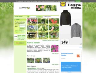 zahrada.cz screenshot
