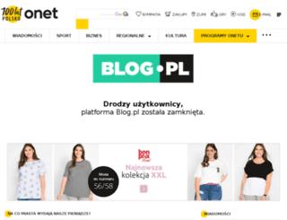 zajrzyjnaszlak.blogujaca.pl screenshot
