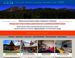 zakopane-slalom.pl screenshot