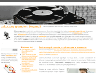 zakurzonygramofon.pl screenshot