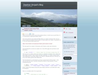 zamjad.wordpress.com screenshot