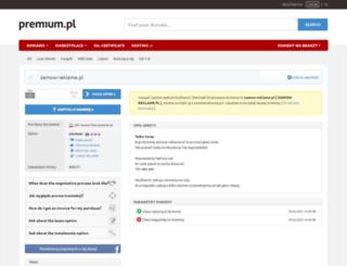 zamow-reklame.pl screenshot