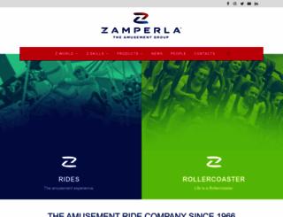 zamperla.it screenshot