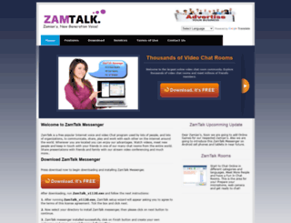 zamtalk.com screenshot