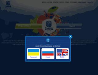zandralifesciences.com screenshot