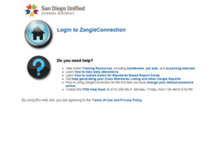 zangle.sandi.net screenshot