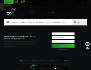 zap-hosting.com screenshot