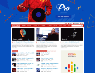 zapadlist.promodj.ru screenshot