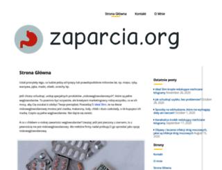 zaparcia.org screenshot