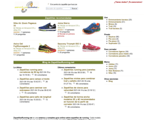 zapatillasrunning.net screenshot
