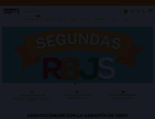 zapatosdetalla.com screenshot