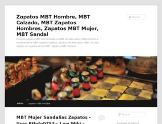zapatosmbthombre.com screenshot