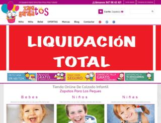 zapatosygarabatos.com screenshot