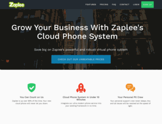 zaplee.com screenshot