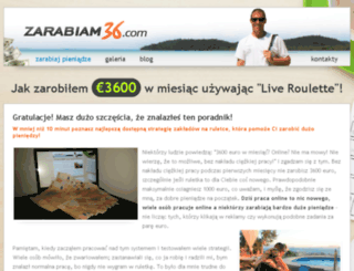 zarabiam36.com screenshot
