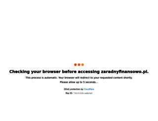 zaradnyfinansowo.pl screenshot