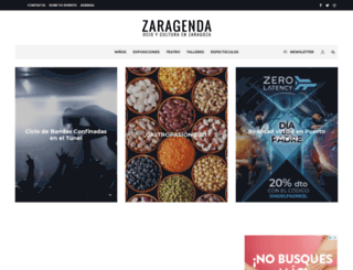 zaragenda.com screenshot