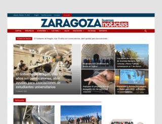 zaragozabuenasnoticias.com screenshot