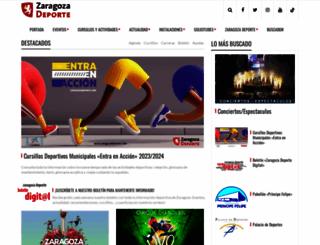 zaragozadeporte.com screenshot