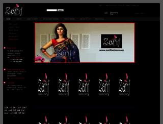 zariffashion.com screenshot