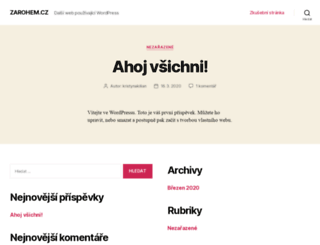 zarohem.cz screenshot