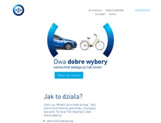 zastepczyrower.pl screenshot