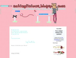 zatieylicious.blogspot.com screenshot