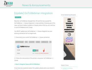 zaxaablog.com screenshot