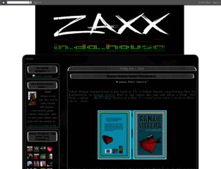 zaxx-in-da-house.blogspot.com screenshot
