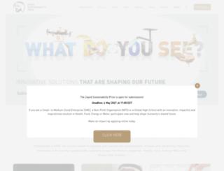 zayedfutureenergyprize.com screenshot