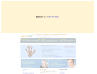 zazachat.com screenshot