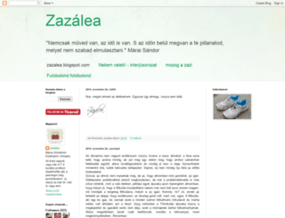 zazalea.blogspot.com screenshot