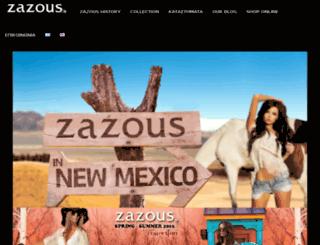 zazous.gr screenshot
