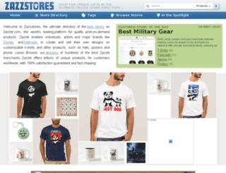 zazzstores.com screenshot