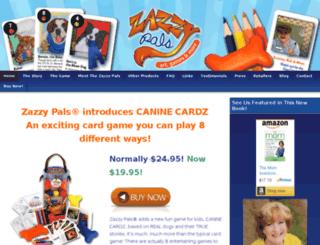 zazzypals.com screenshot