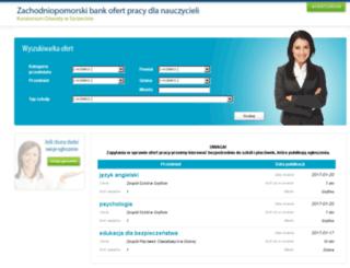 zbopn.kuratorium.szczecin.pl screenshot