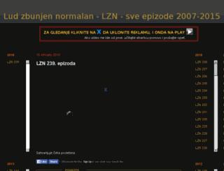 zbunjenludnormalan.blogspot.com screenshot