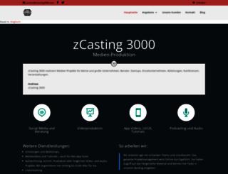 zcasting3000.com screenshot