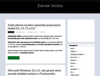 zdenekvecera.cz screenshot