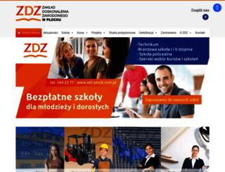 zdz-plock.com.pl screenshot